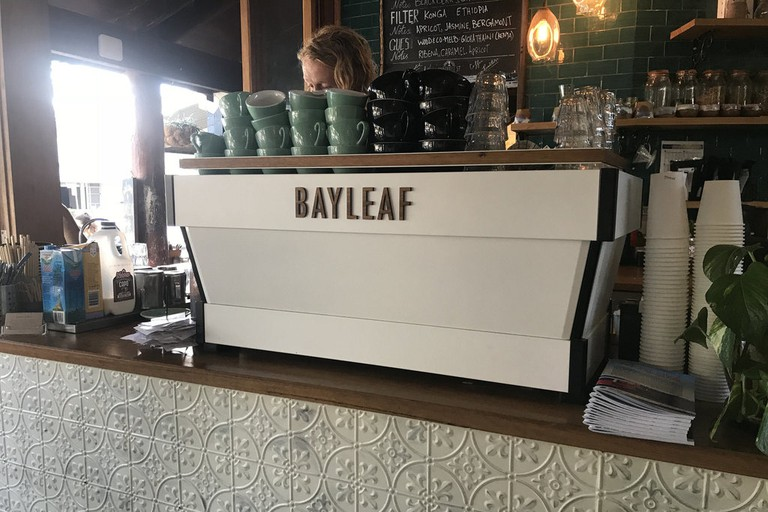 Inside Bayleaf Cafe