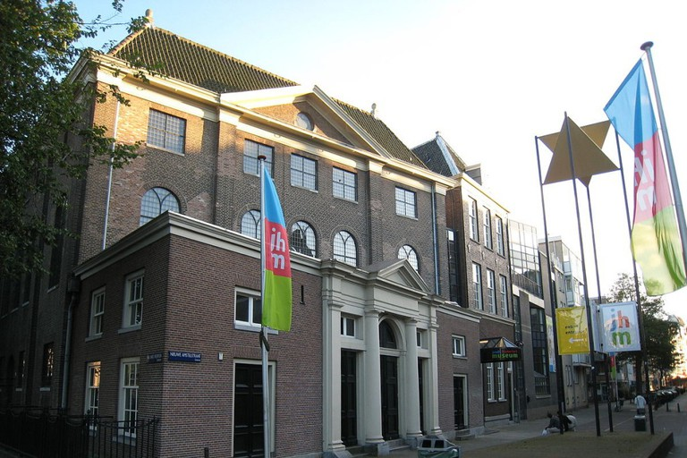 Jewish Historical Museum's main entrance