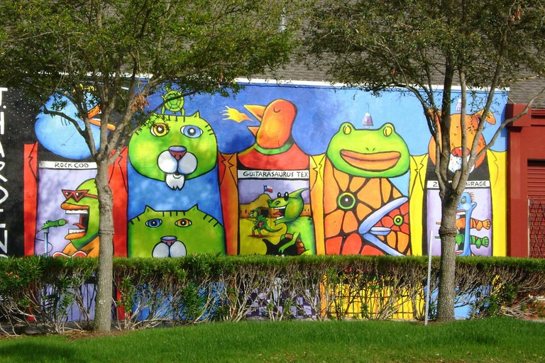 Bean Barton Mural