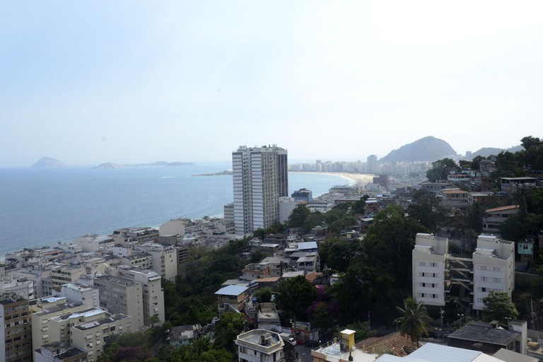 View from the top of Babilonia