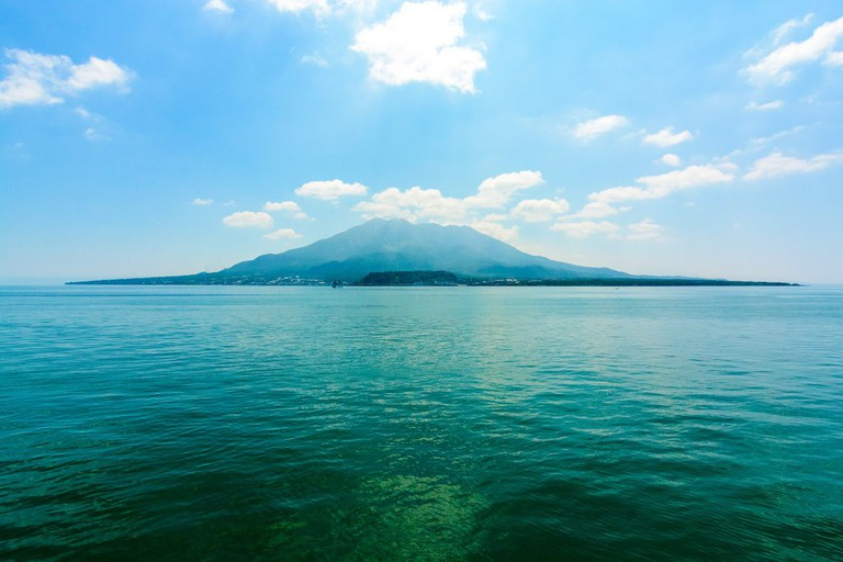 With scenery like this, it's clear why Sakurajima attracts visitors