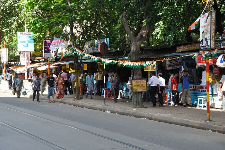 College Street Market, the largest used-books market in the country