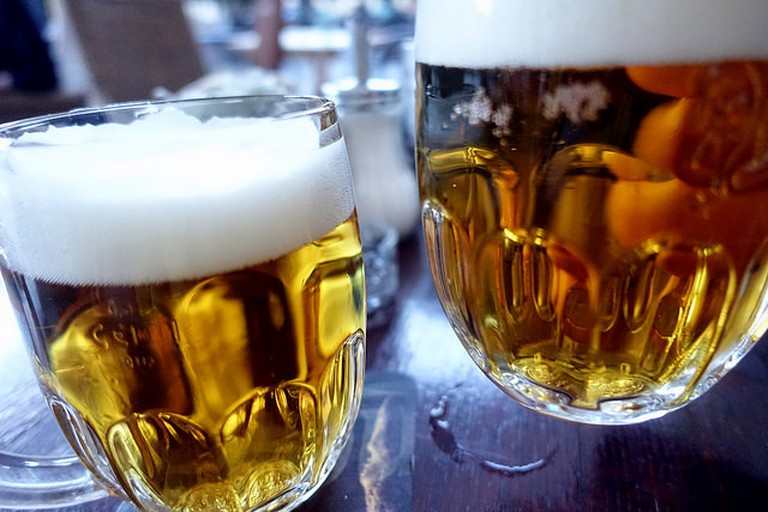 Traditional Czech beer