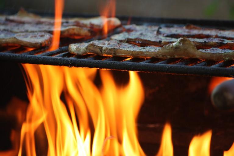 Barbecued Llama