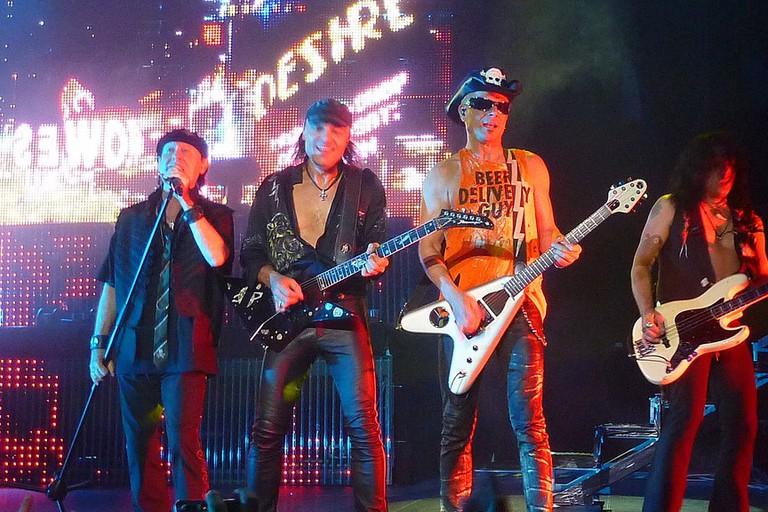 Scorpions en Chile 2010