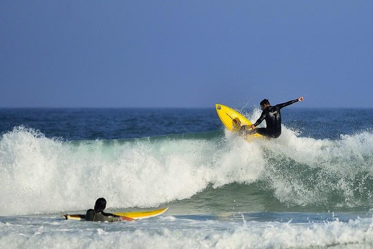 Surfing in Floripa