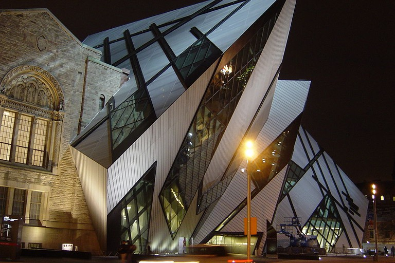The ROM at night