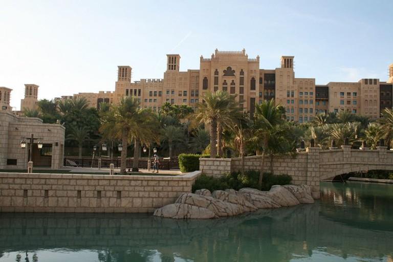 View of the Madinat Jumeirah
