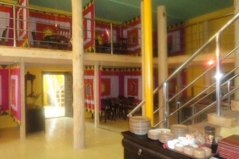 Hazara's colourful interior