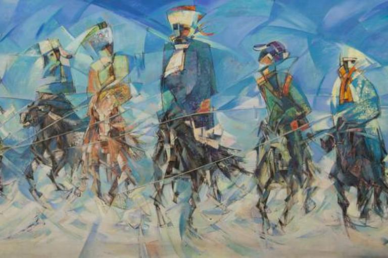 Mongolian National Modern Art Gallery, Ulaanbaatar