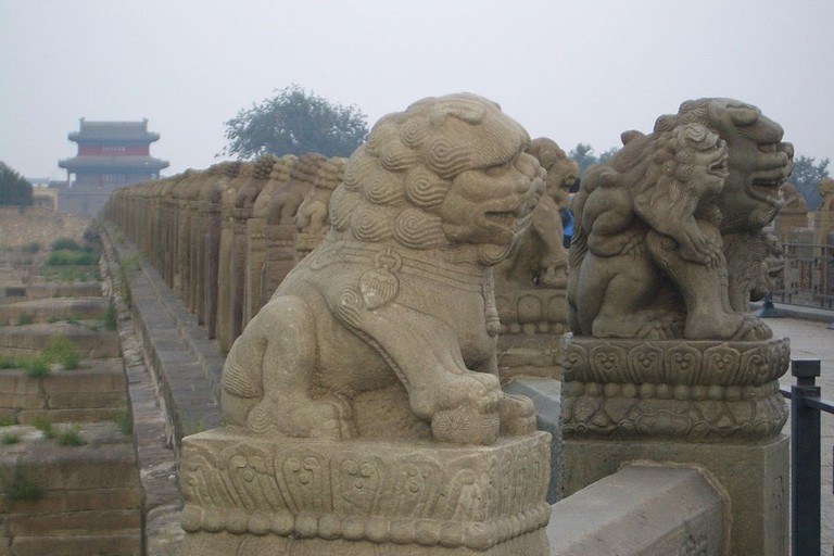 Lugou Bridge Lions