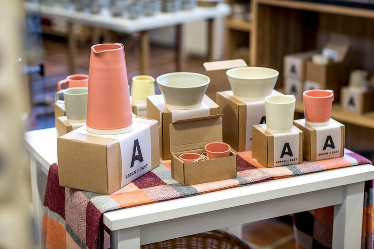 Arran Street East pottery at Kilkenny Design Centre