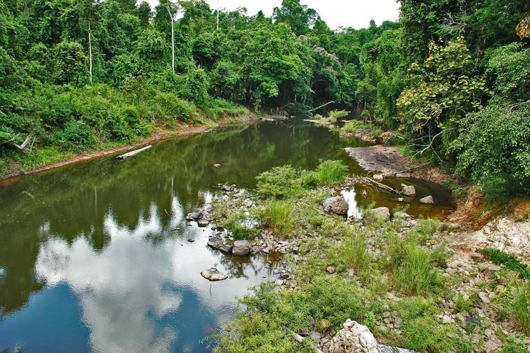 River Landscape Khao Yai