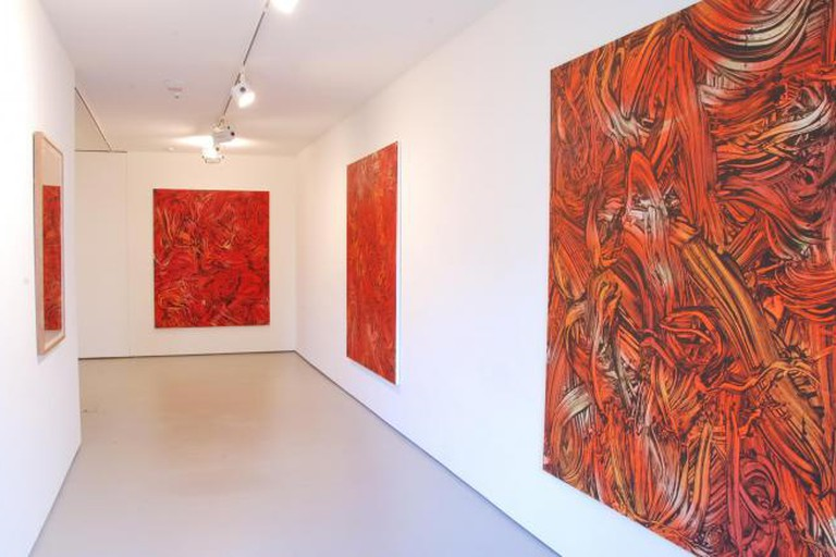 Judy Millar, Red Red Orange, 2014
