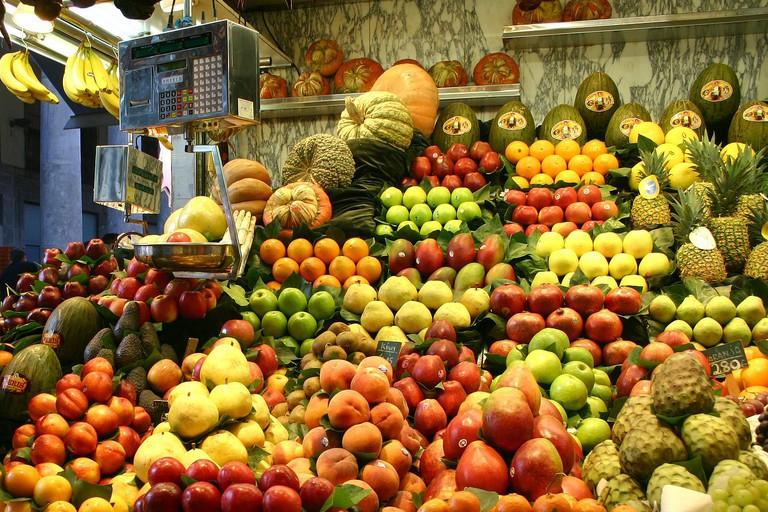 Fruit at the Boqueria