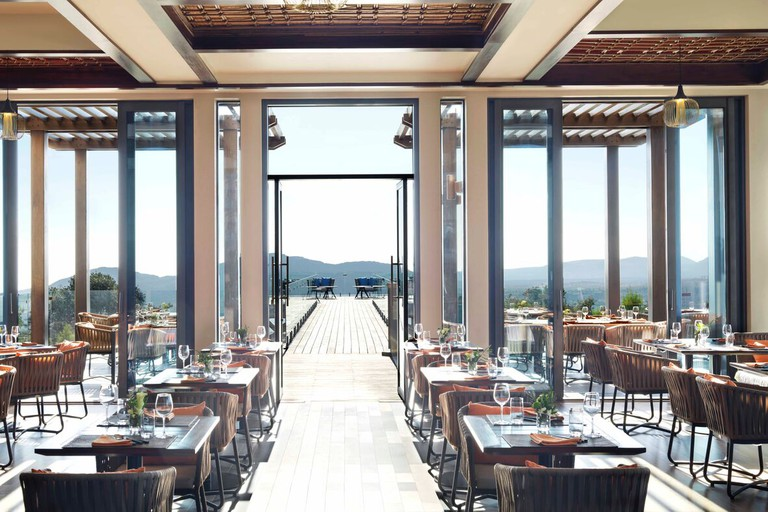 Savour Italian delicacies at Bella Vista, Anantara Jabal Akhdar
