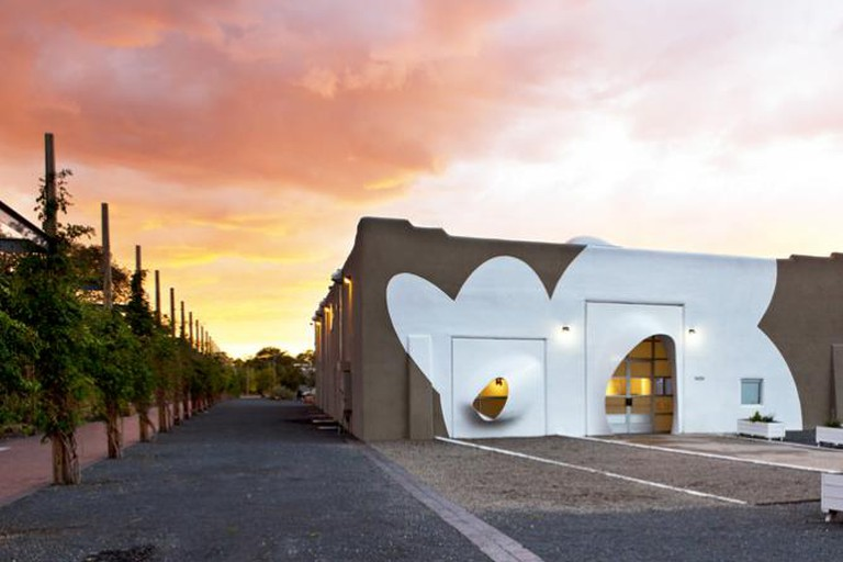 SITE Santa Fe, Facade Architectural Intervention, Greg Lynn/FORM