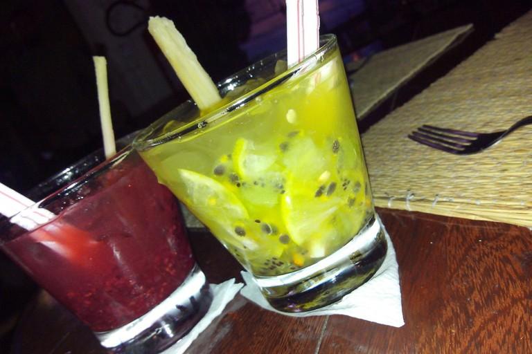 Fruit Caipirinhas