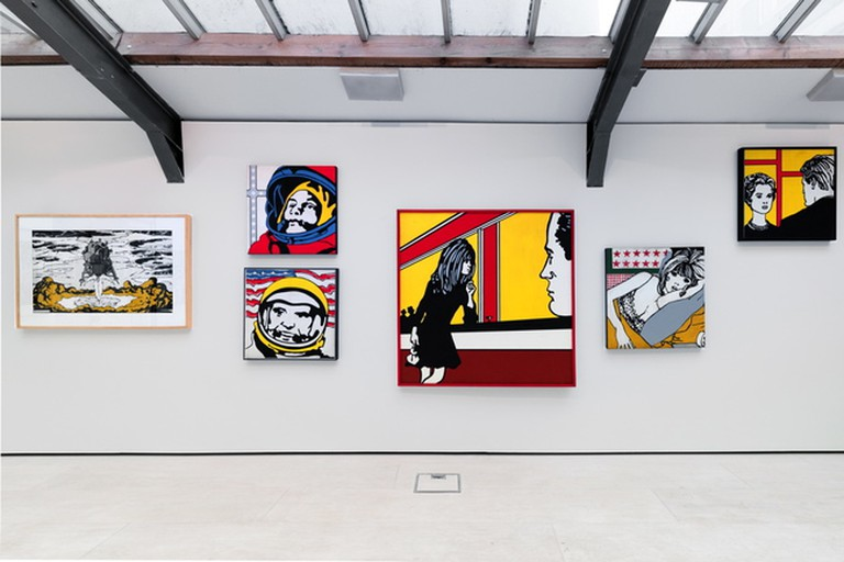 Installation view of Claudio Tozzi