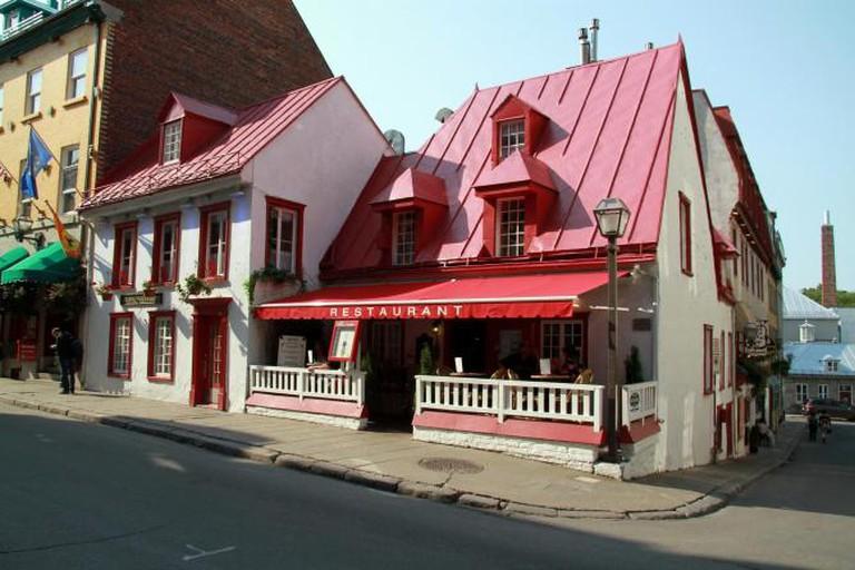 Aux Anciens Canadiens, Rue Saint Louis