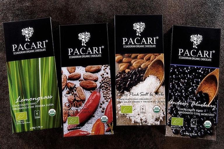 Barras de Chocolate Pacari