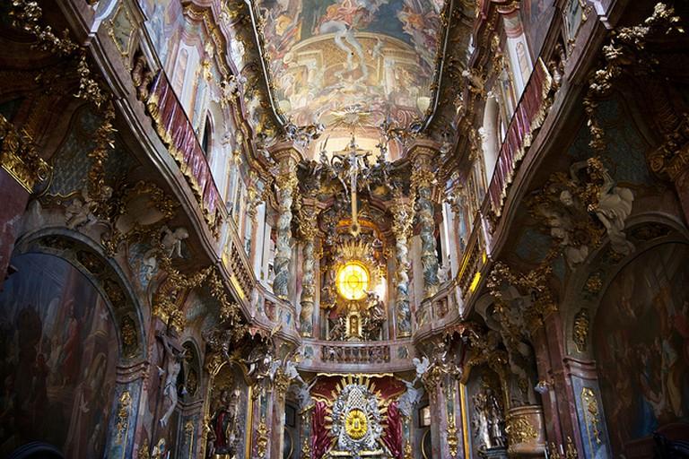 Inside Asamkirche