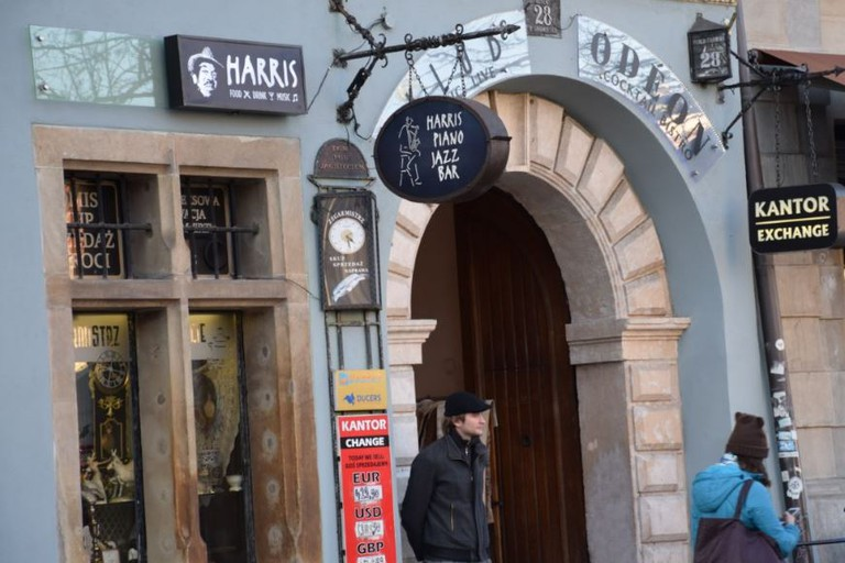 Harris Piano Jazz Bar in Krakow
