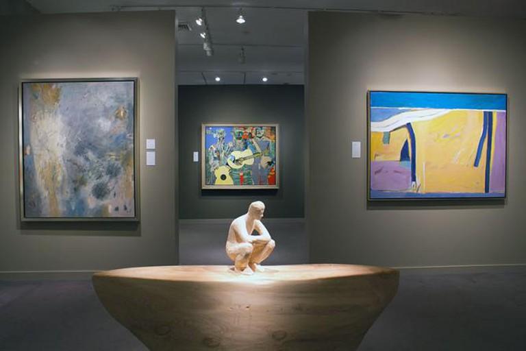 Jerald Melberg Gallery Interior