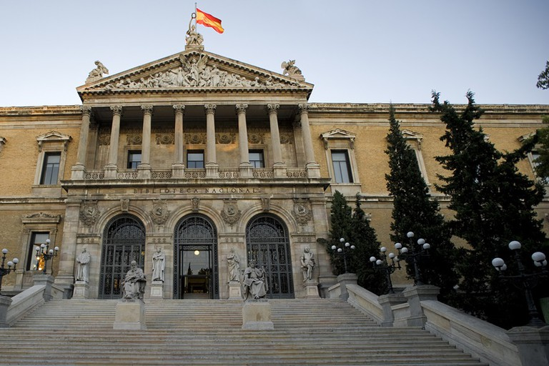 Madrid's Biblioteca Nacional