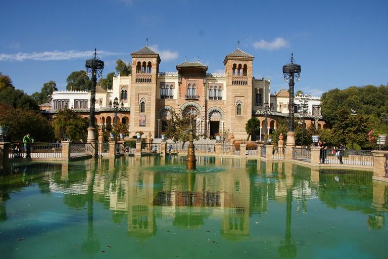 Seville's Pabellón Mudéjar
