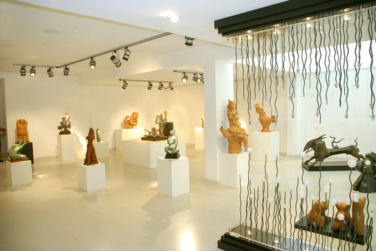 Installation at Aakriti Gallery