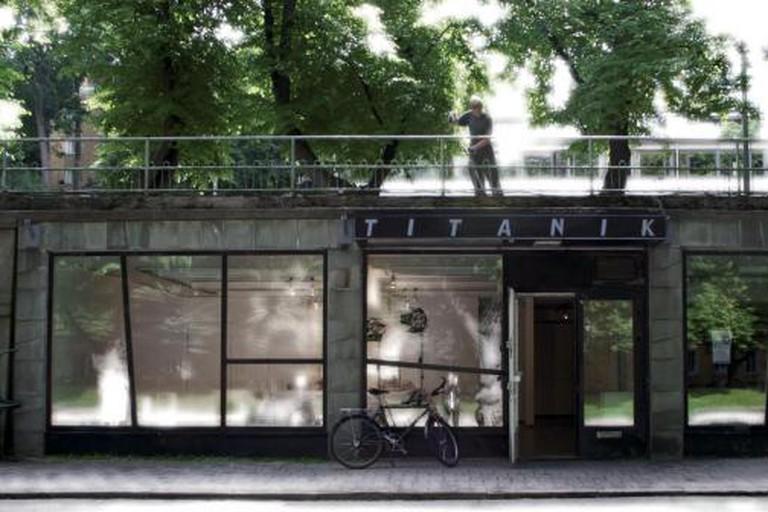 Titanik Gallery exterior