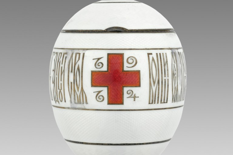 Imperial Red Cross Egg