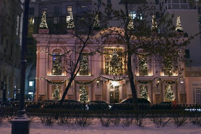 Café Pushkin Moscow