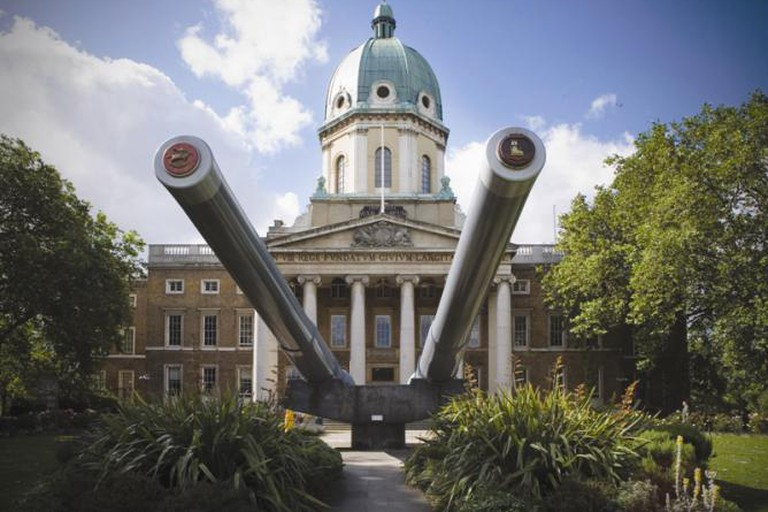 The Imperial War Museum hosts a number of exhibitions