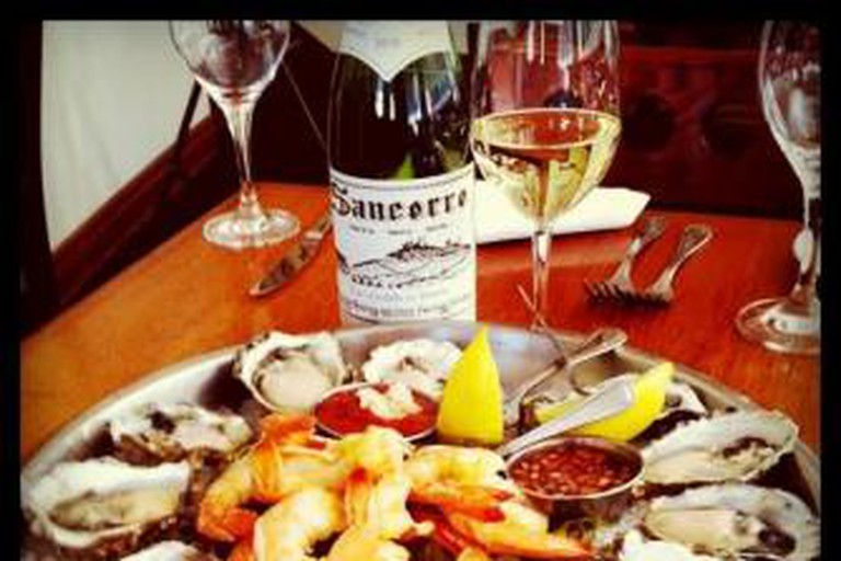 Seafood and Sancerre at the Walnut Creek Yacht Club