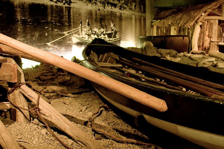 New Zealand Maritime Museum Exhibit