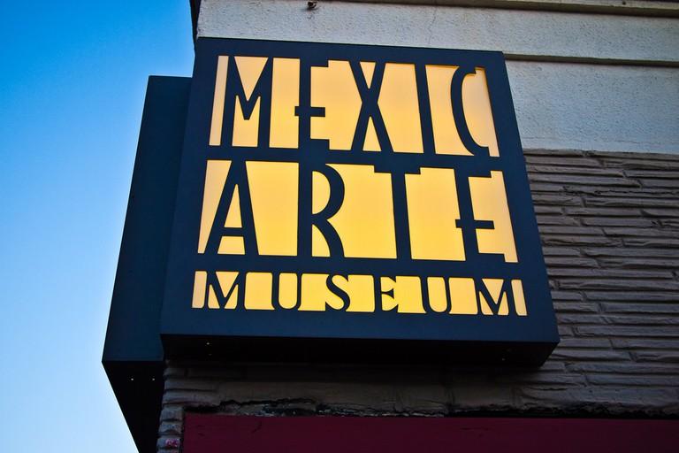 Mexic-Arte Museum on Congress