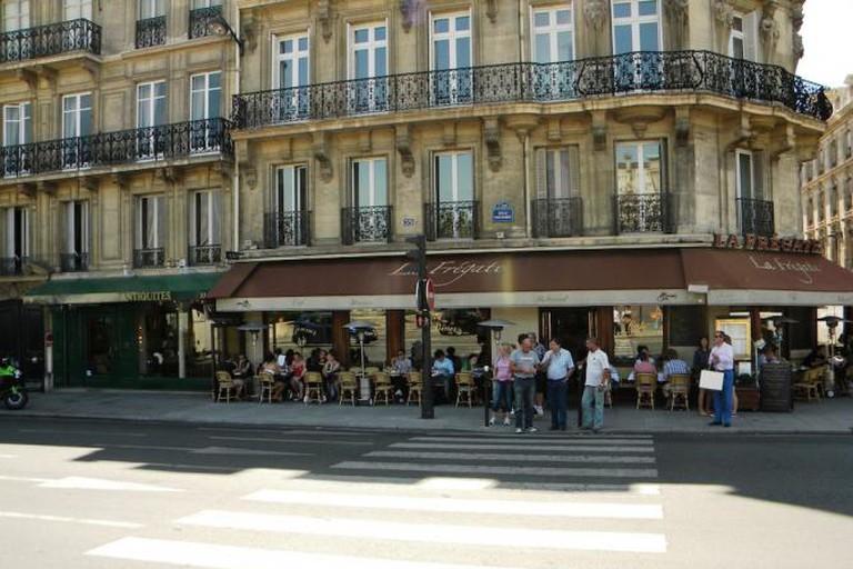 Quai Voltaire, La Fregate, Paris