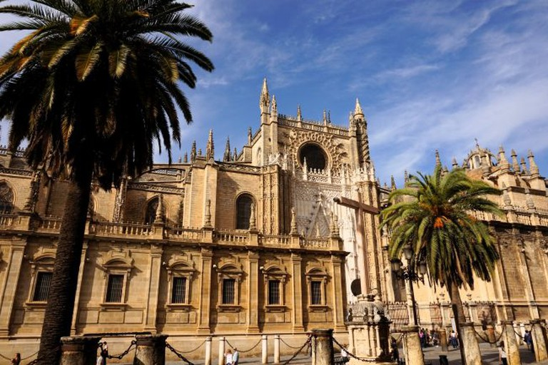 Seville's Gothic cathedral is the largest in the world