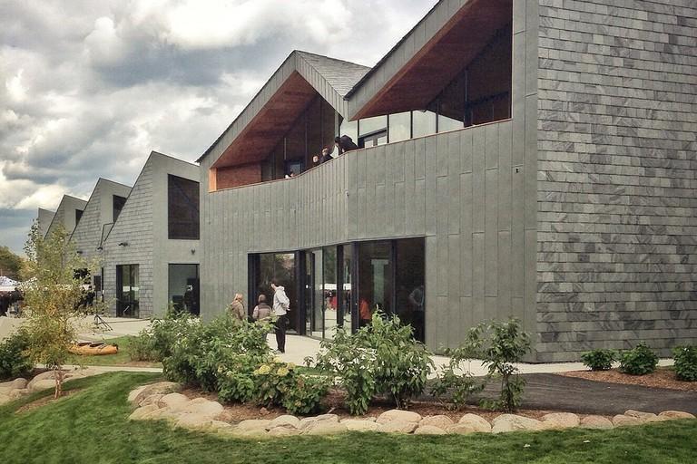 The WMS Boathouse at Clark Park