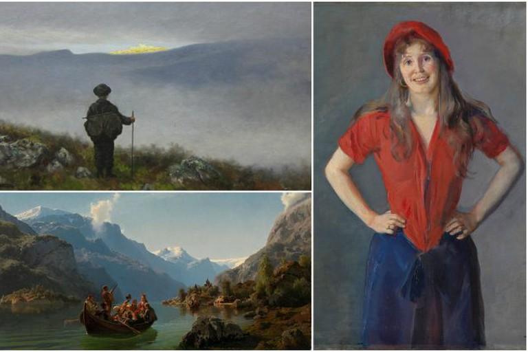 Famous works by Dahl, Krohg and Tidemand at Nasjonalgalleriet