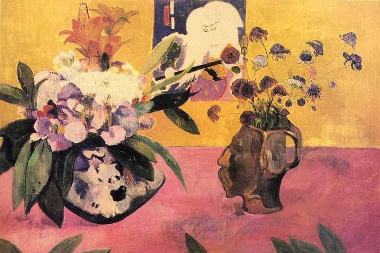 'Nature morte à l'estampe japonaise' by Paul Gauguin is a part of TMoCA's collection