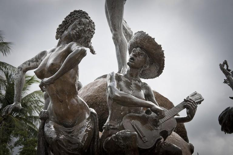 Sculpture in Puerto Rico