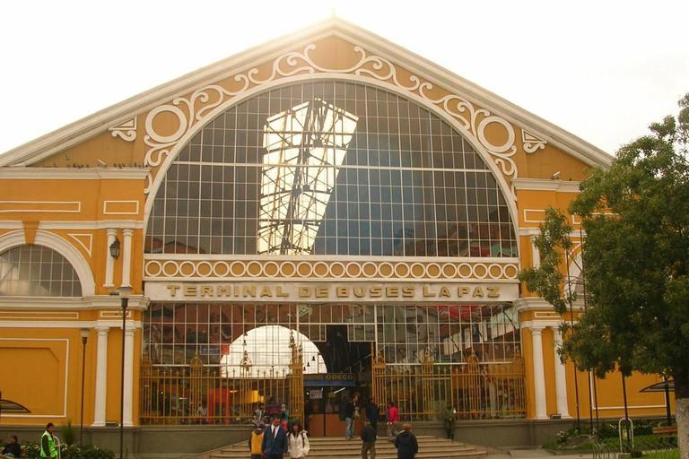 La Paz bus station