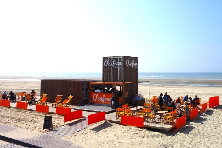 O'safran - beach, bar, restaurant, Le Touquet Paris Plage