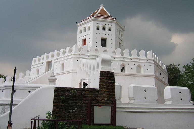 Phra Sumeru Fortress near Khao San Road