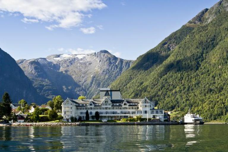 Sognefjorden and Kviknes Hotel