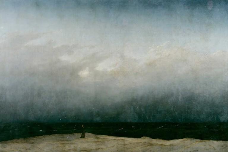 Der Mönch am Meer