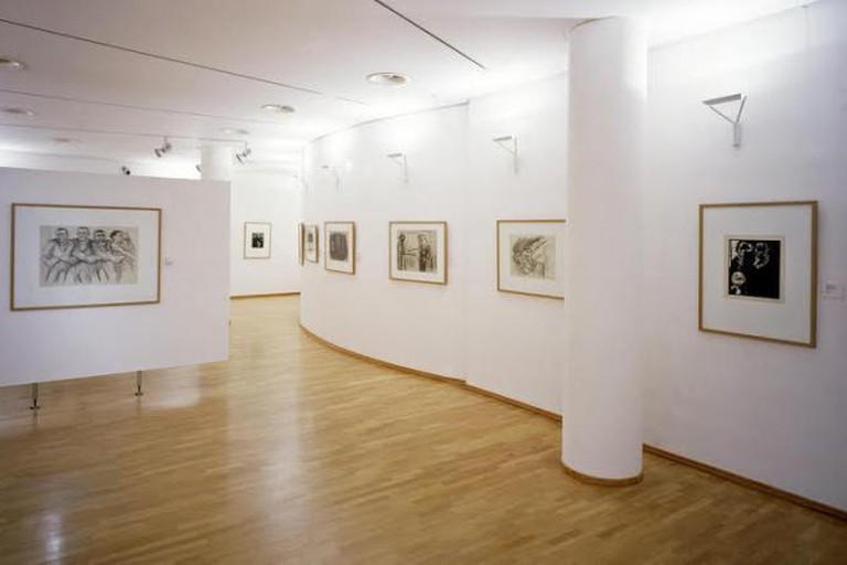 Käthe Kollwitz Museum Interior